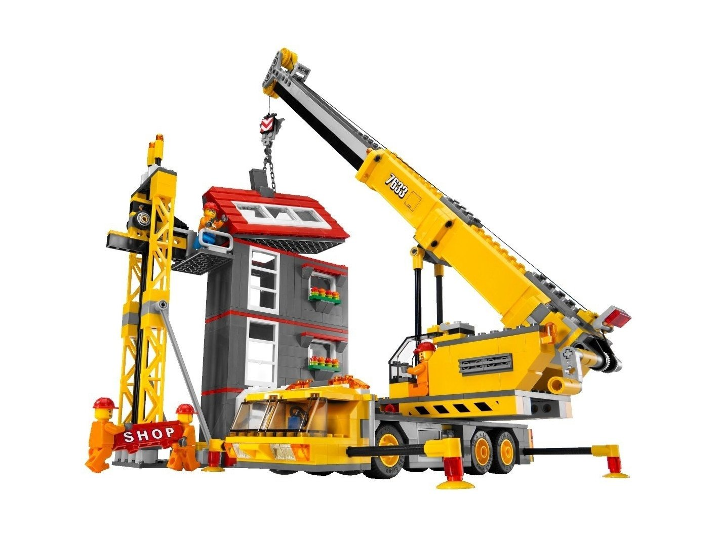 LEGO City 7633 Budowa