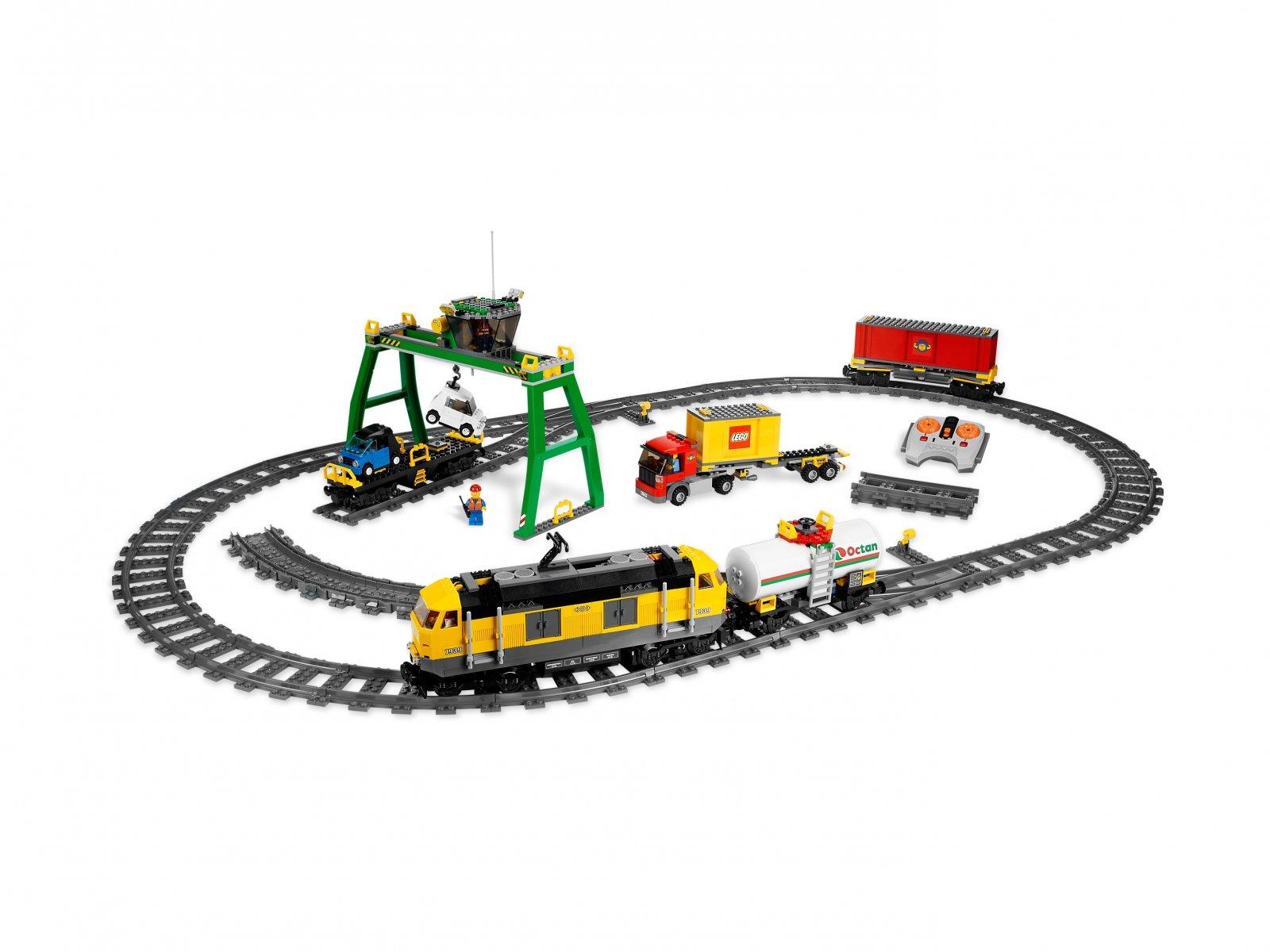 Lego 7939 City Pociąg Towarowy Zklockówpl