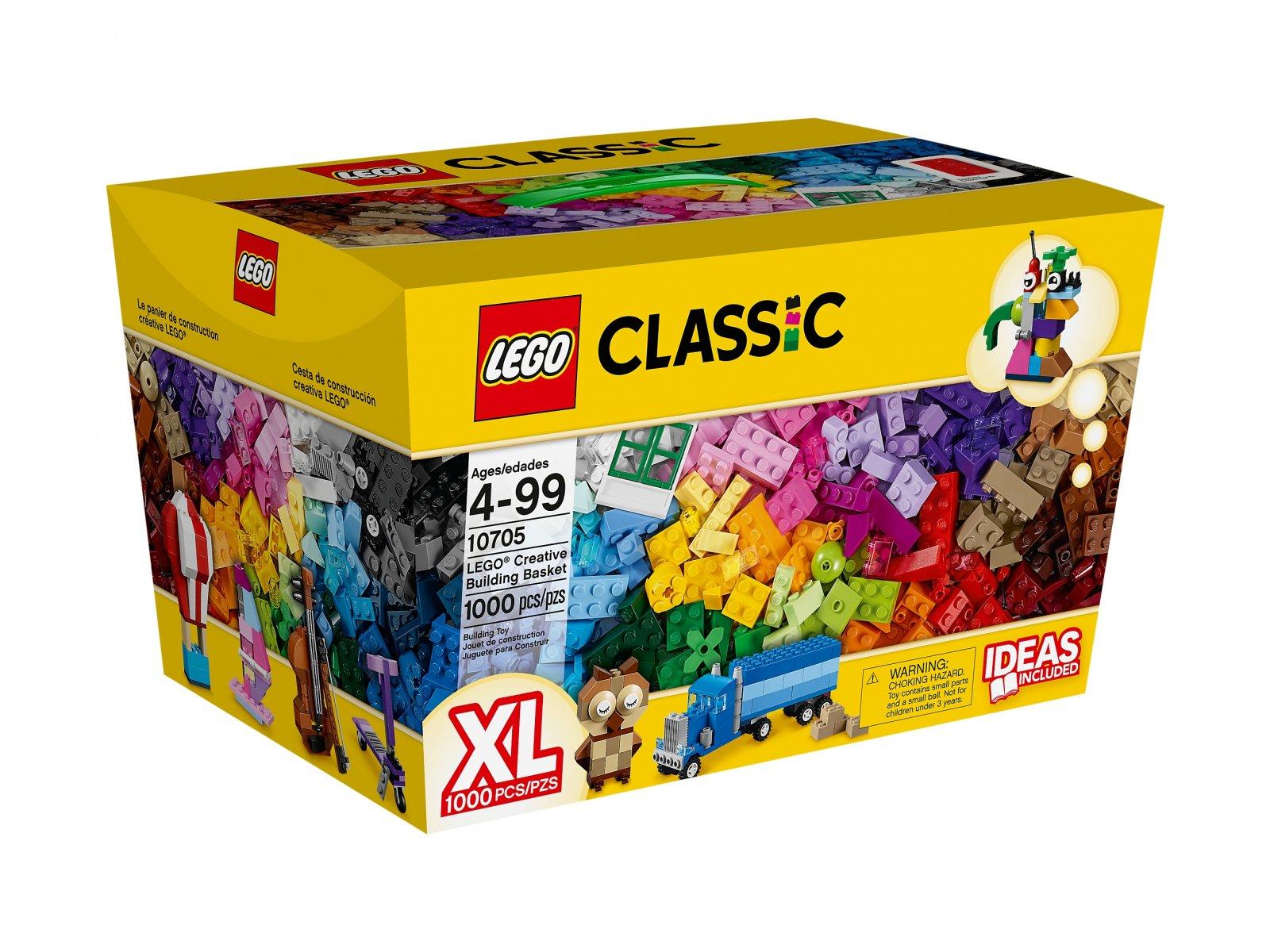 10705 LEGO Classic Zestaw kreatywnego budowniczego Лего Сити Инструкции