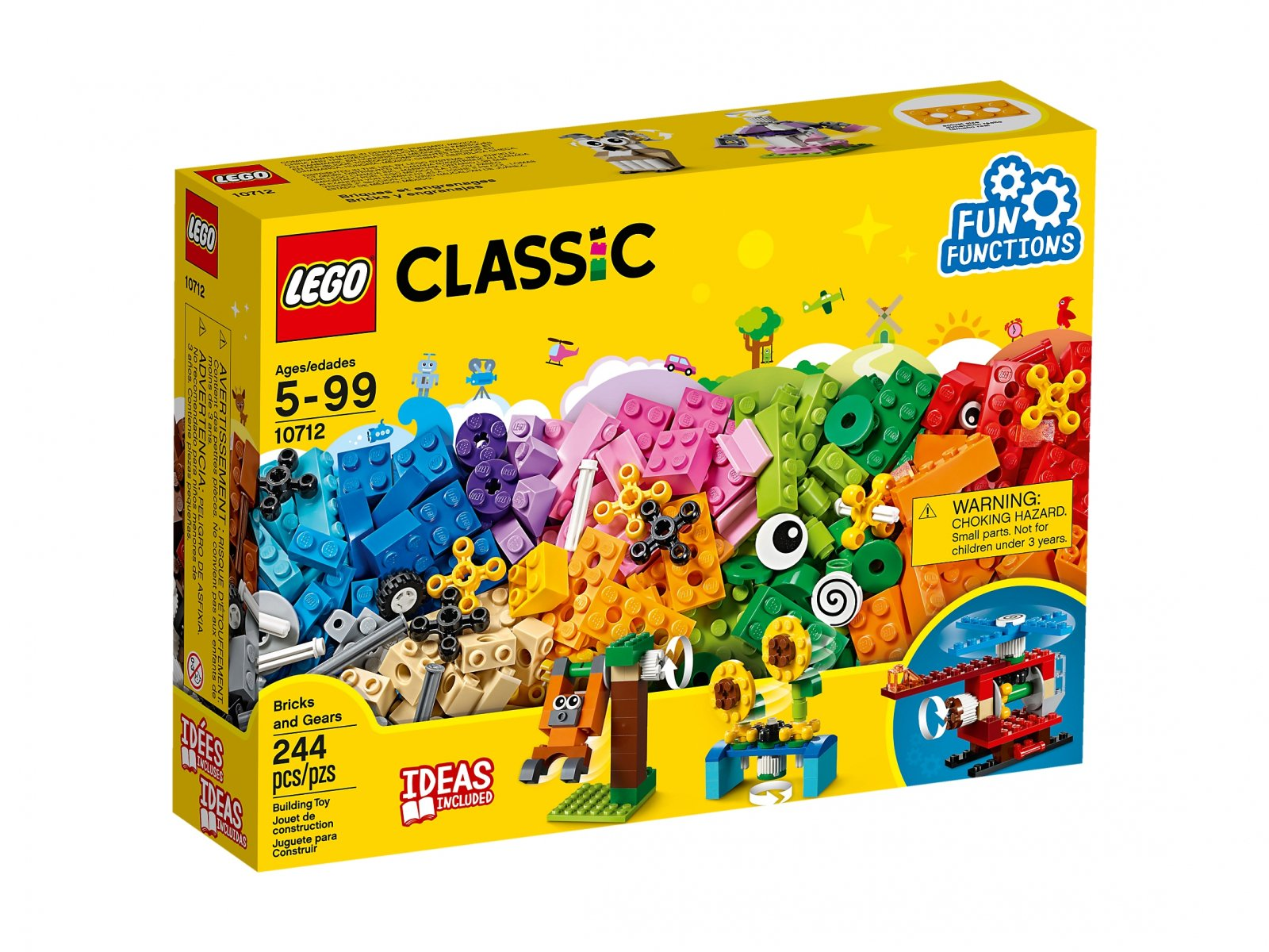 Lego 10712 Classic Kreatywne Maszyny Zklockówpl