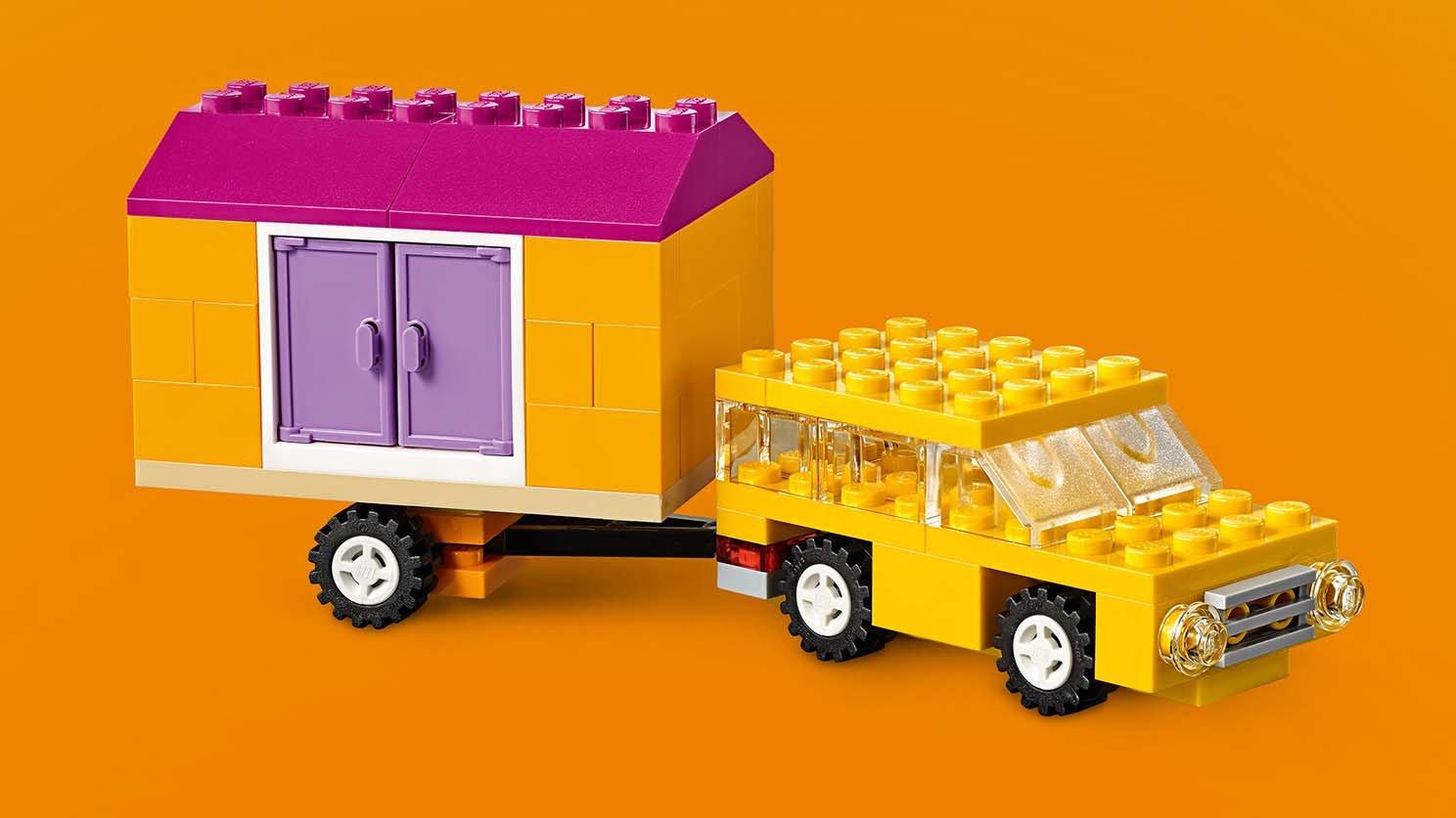 LEGO 10715 Classic Klocki na kółkach | zklocków.pl