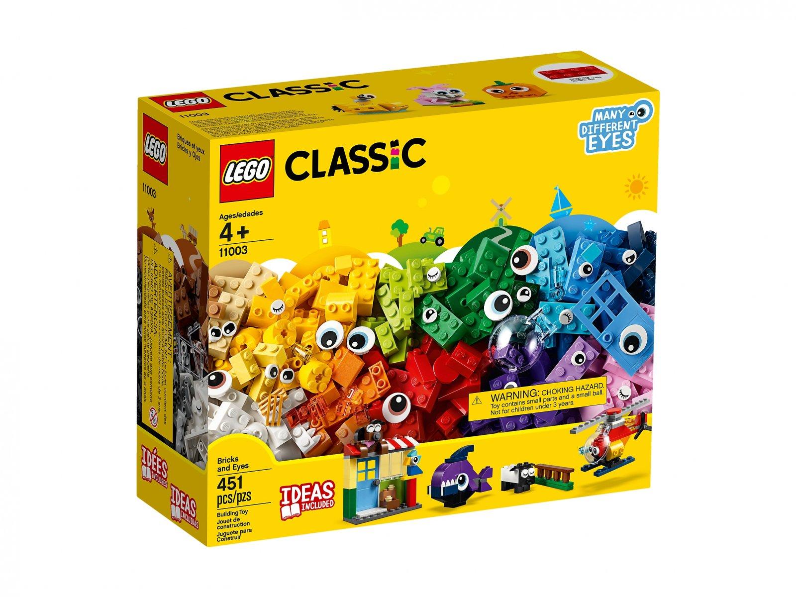 LEGO Classic Klocki - buźki