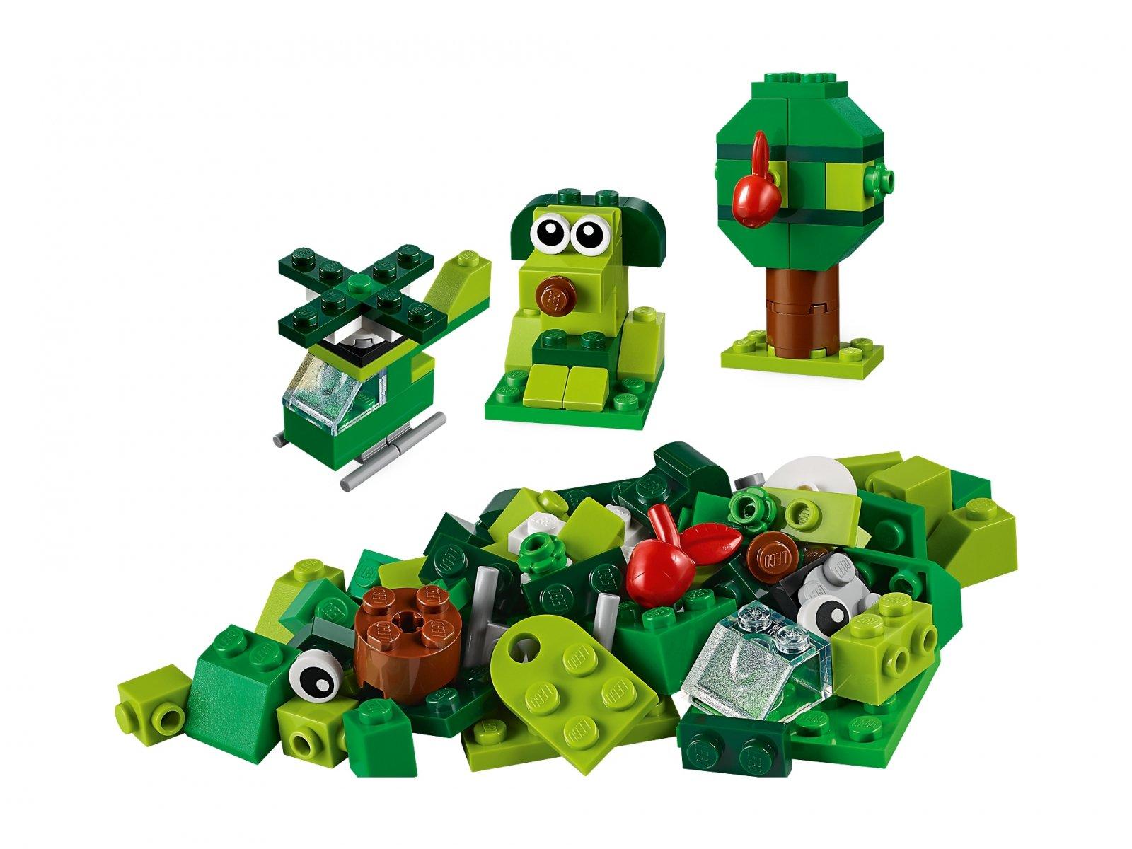 LEGO Classic Zielone klocki kreatywne 11007