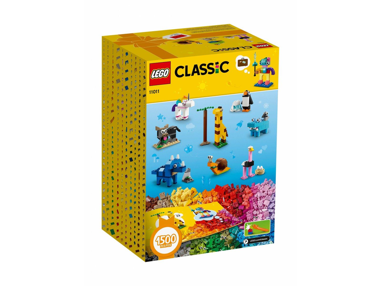 LEGO 11011 Klocki i zwierzątka