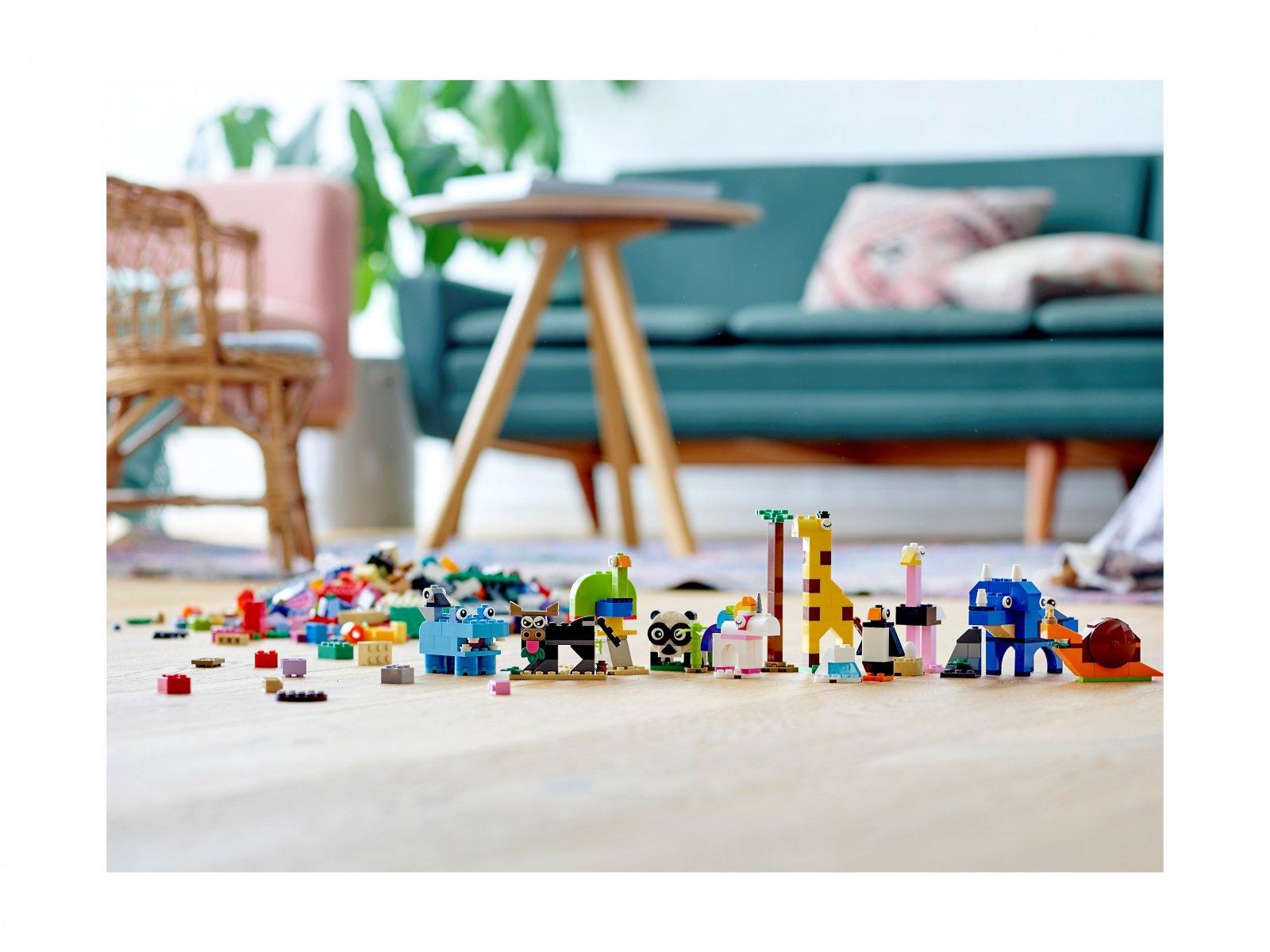 LEGO 11011 Classic Klocki i zwierzątka