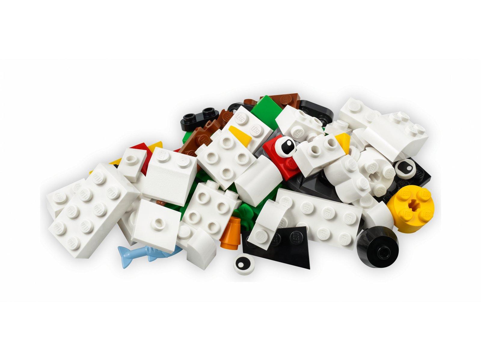 LEGO Classic Kreatywne białe klocki 11012