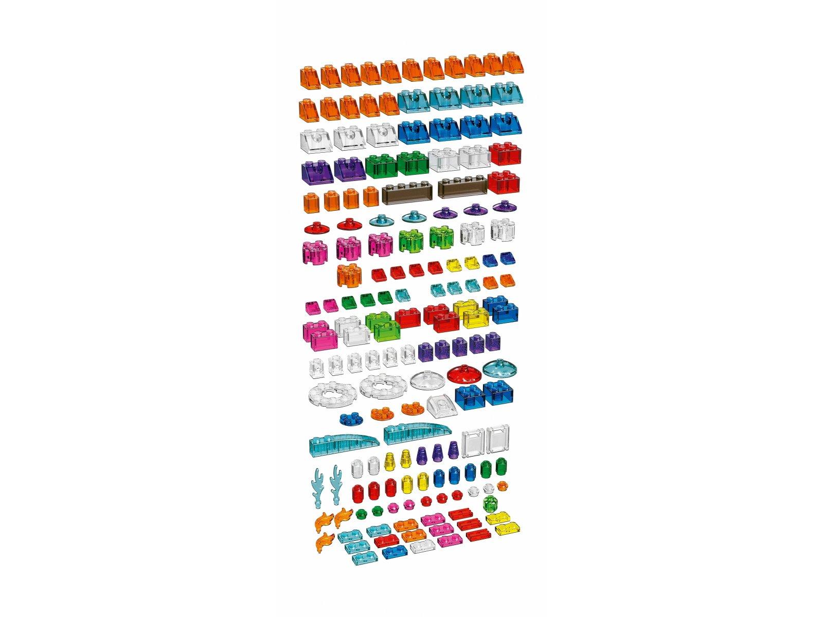 LEGO Classic Kreatywne przezroczyste klocki 11013