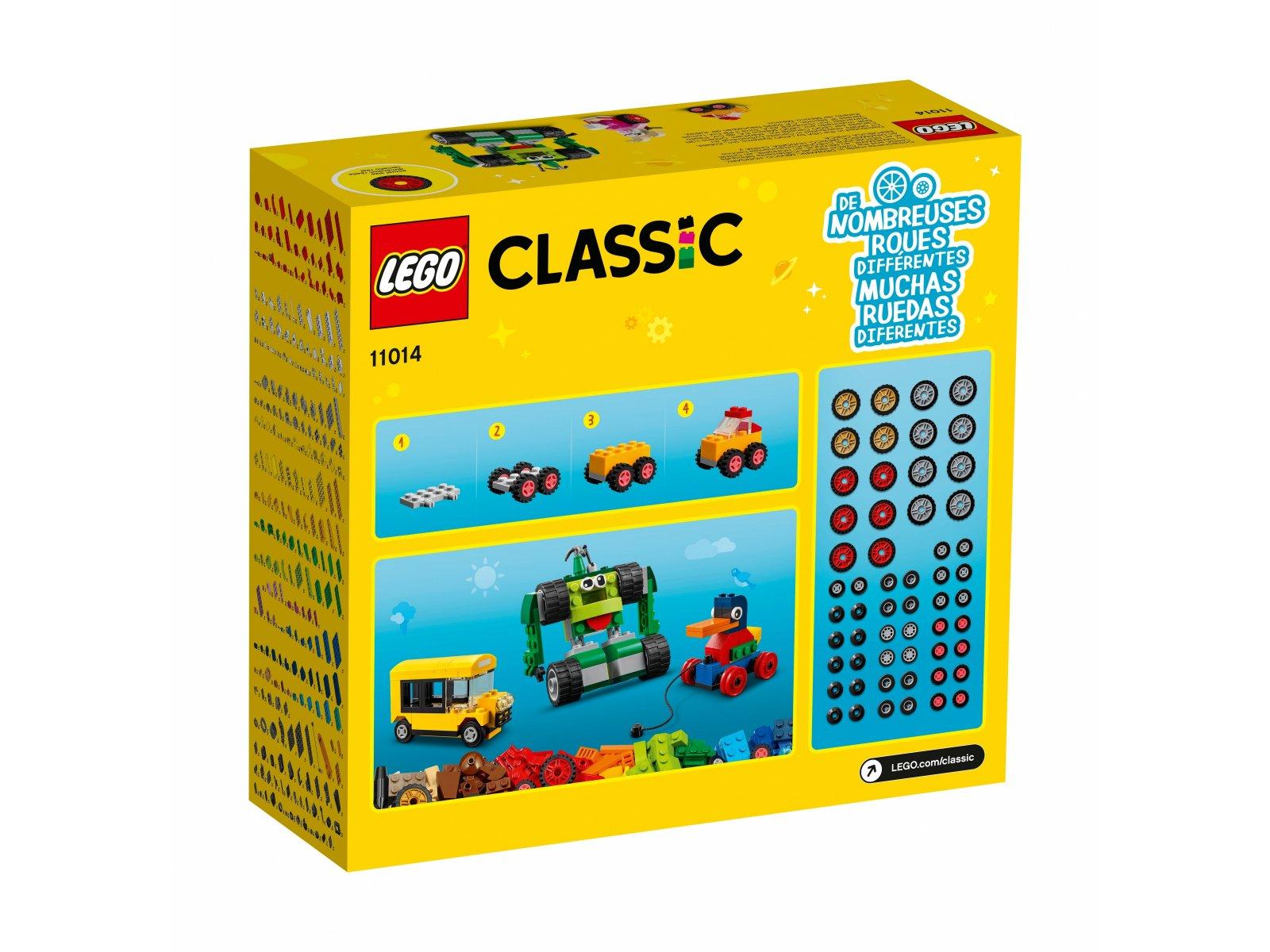 LEGO 11014 Classic Klocki na kołach