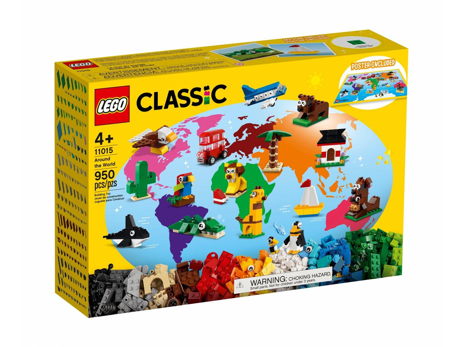 LEGO Classic 11015 Dookoła świata