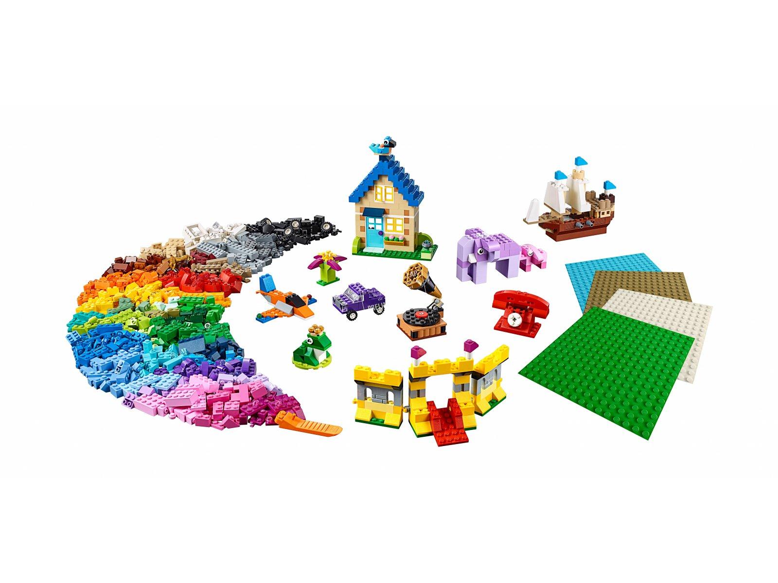 LEGO Classic 11717 Klocki, klocki, płytki