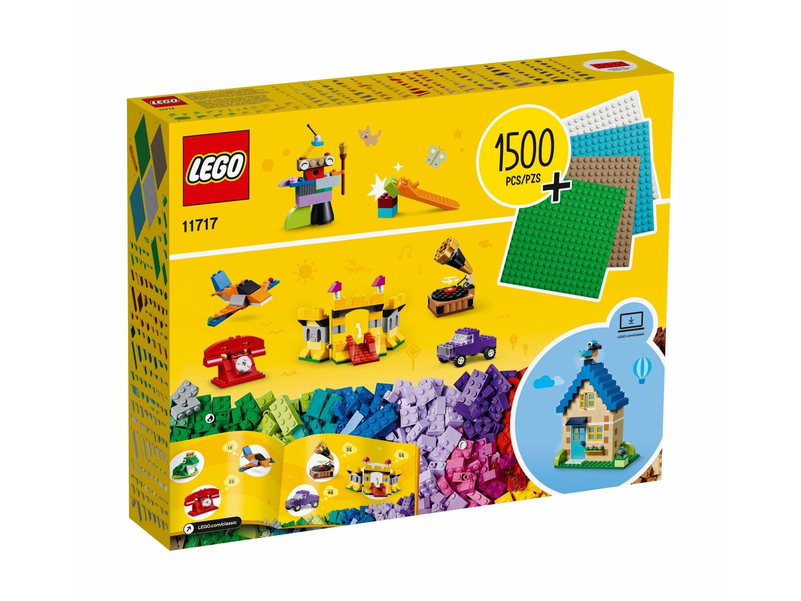 LEGO 11717 Klocki, klocki, płytki