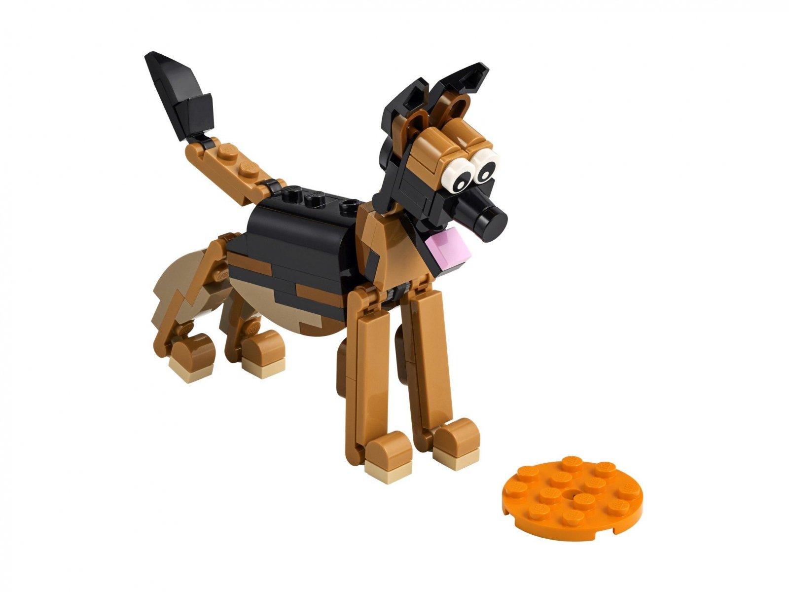 LEGO Creator 3 w 1 Owczarek niemiecki 30578