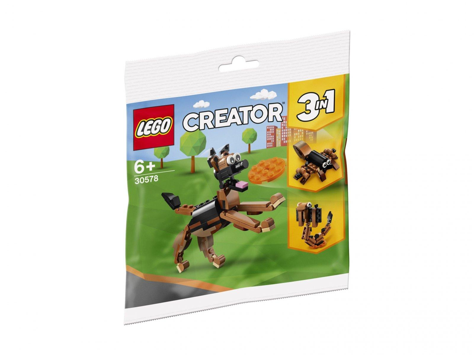 LEGO 30578 Creator 3 w 1 Owczarek niemiecki