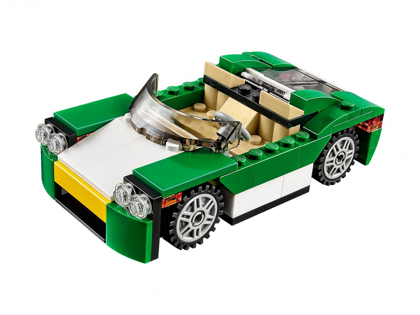 LEGO Creator 3 w 1 31056 Zielony krążownik