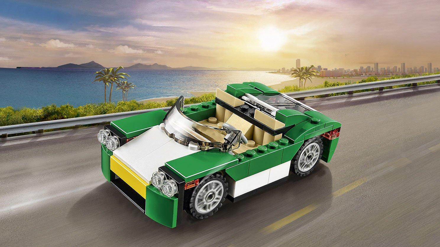 LEGO Creator 3 w 1 Zielony krążownik