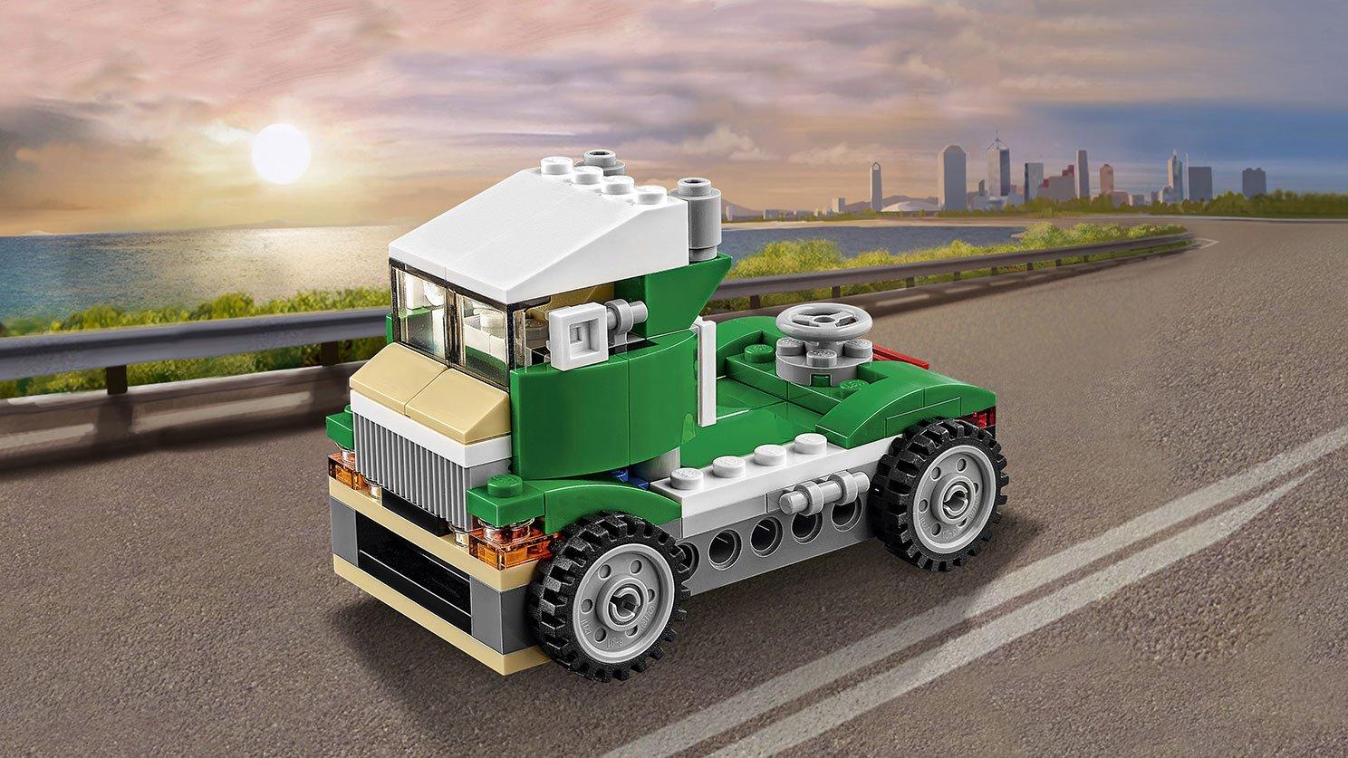 LEGO Creator 3 w 1 Zielony krążownik 31056