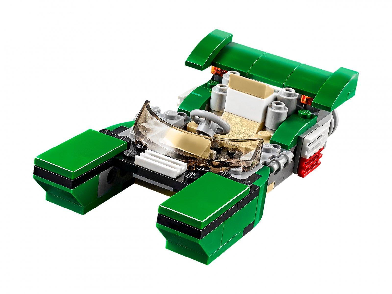LEGO 31056 Creator 3 w 1 Zielony krążownik