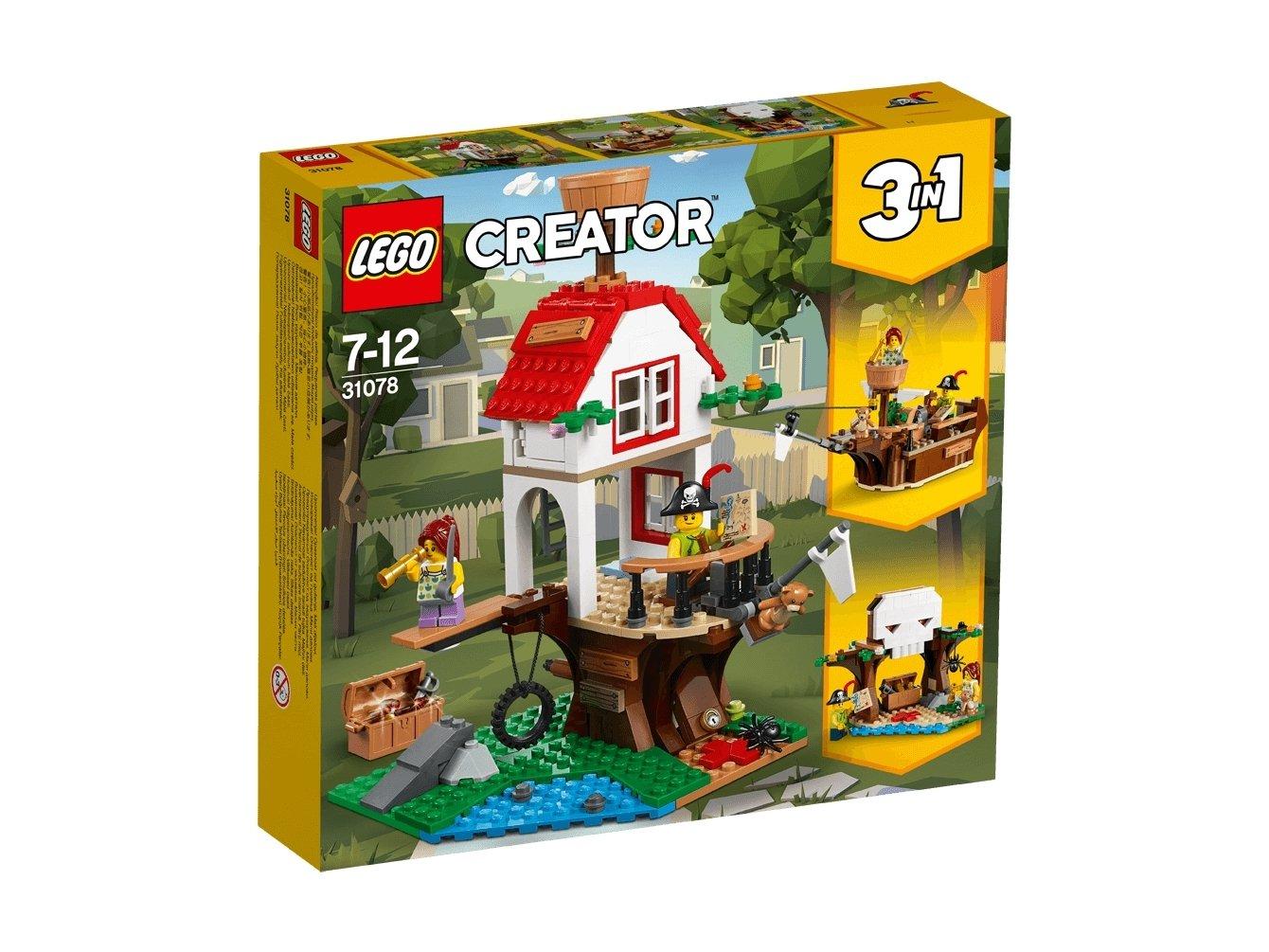 LEGO Creator 3 w 1 Poszukiwanie skarbów