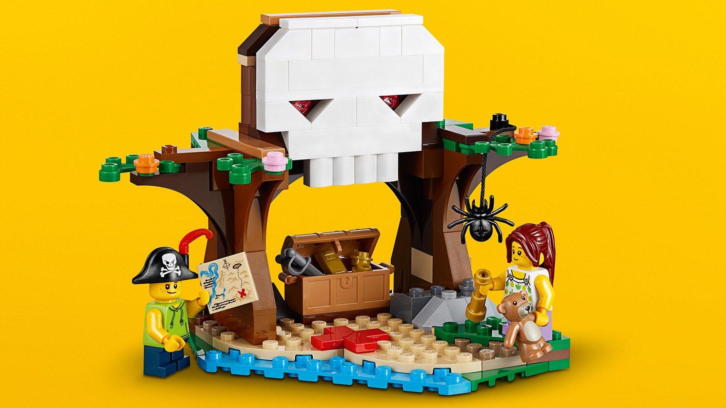 LEGO Creator 3 w 1 31078 Poszukiwanie skarbów