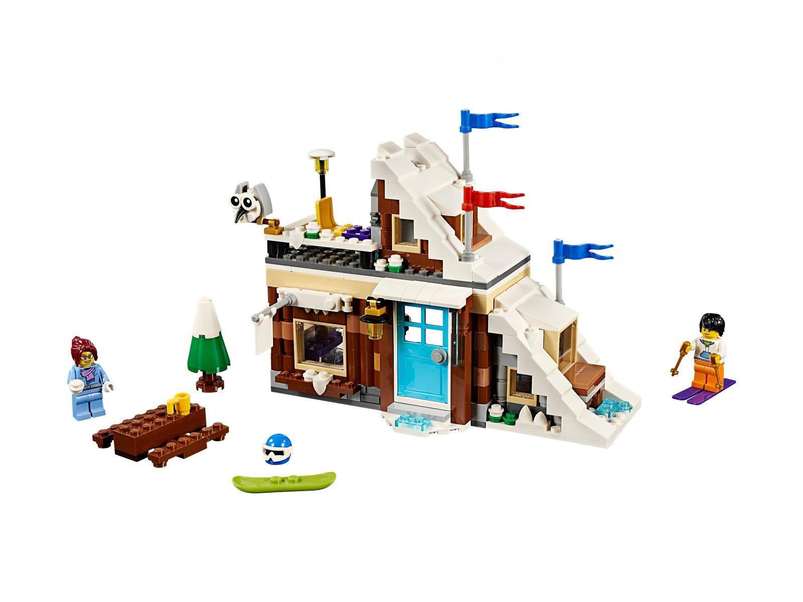 LEGO Creator 3 w 1 Ferie zimowe