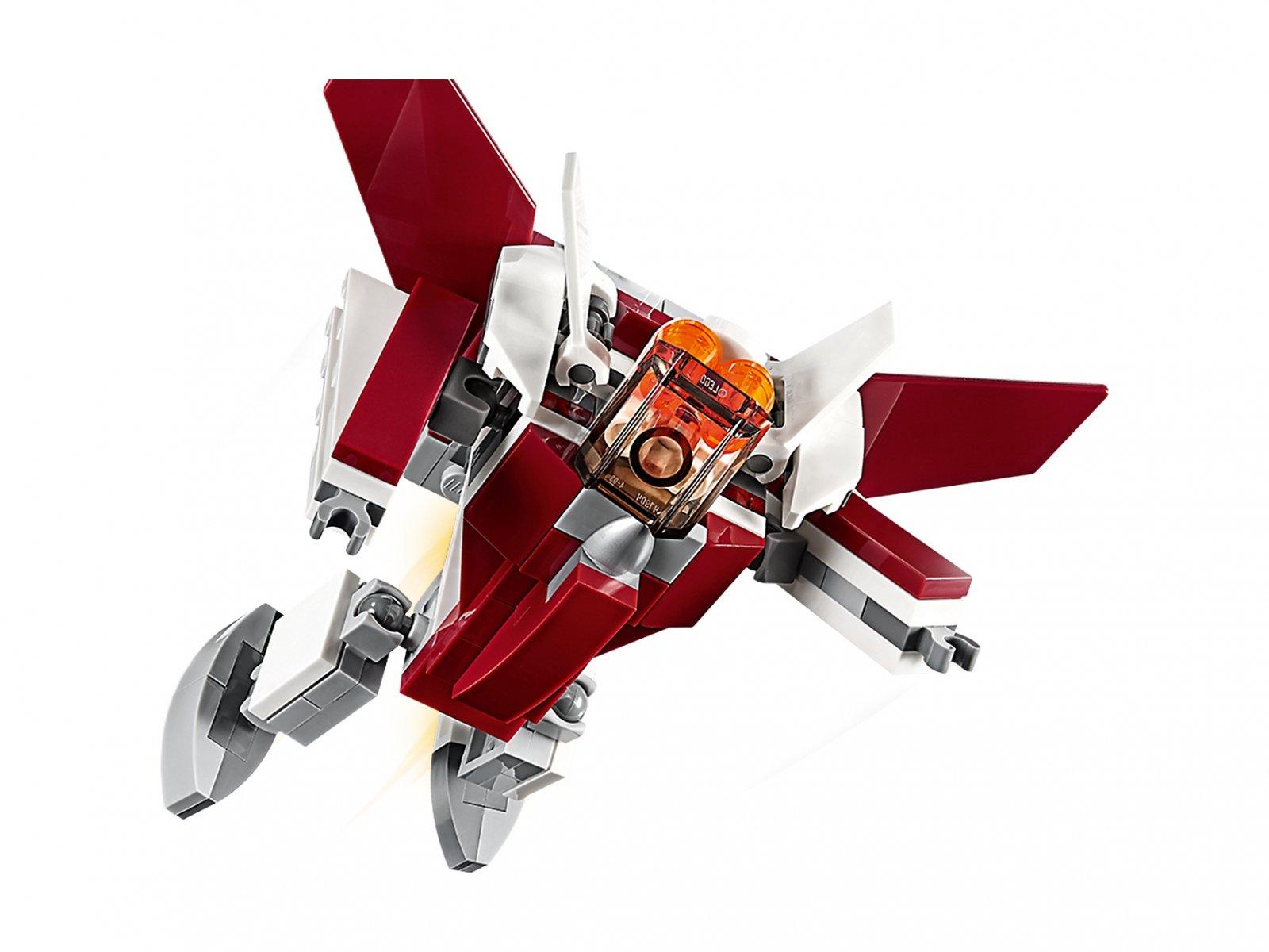 LEGO Creator 3 w 1 31086 Futurystyczny samolot