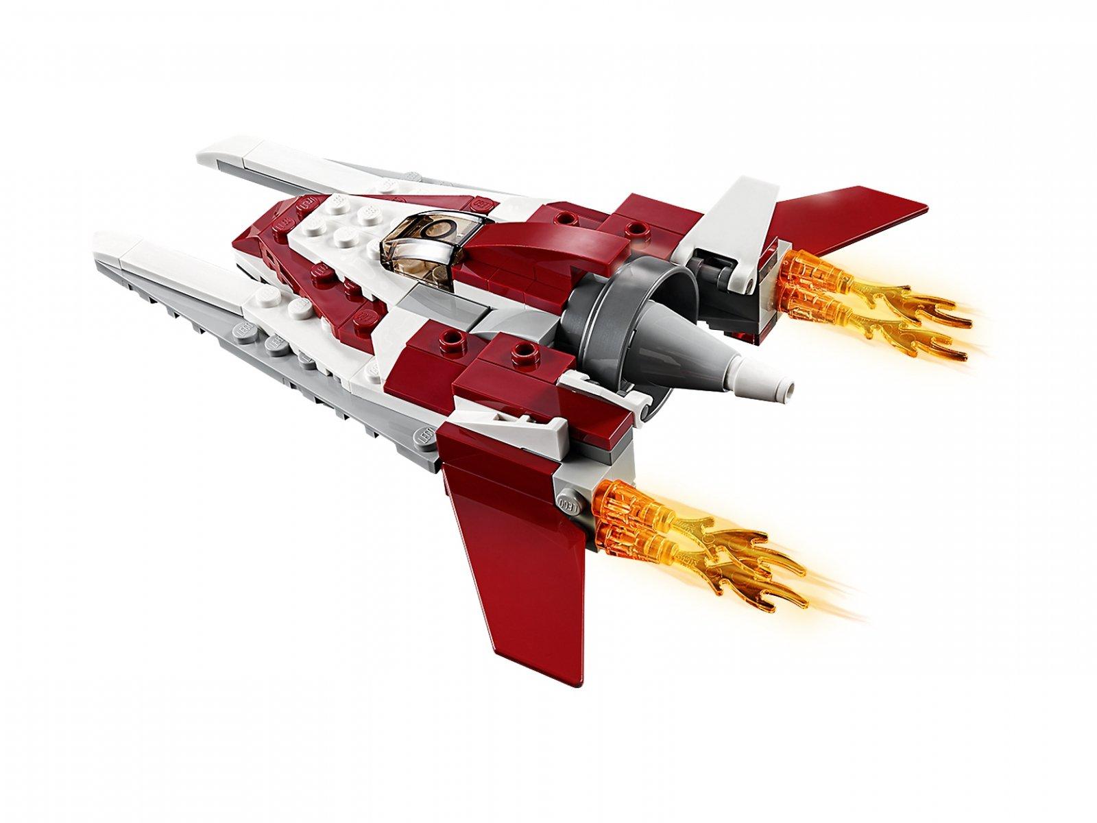 LEGO 31086 Creator 3 w 1 Futurystyczny samolot