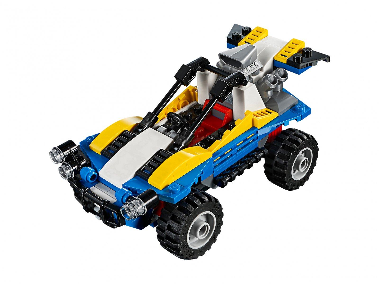 LEGO 31087 Creator 3 w 1 Lekki pojazd terenowy