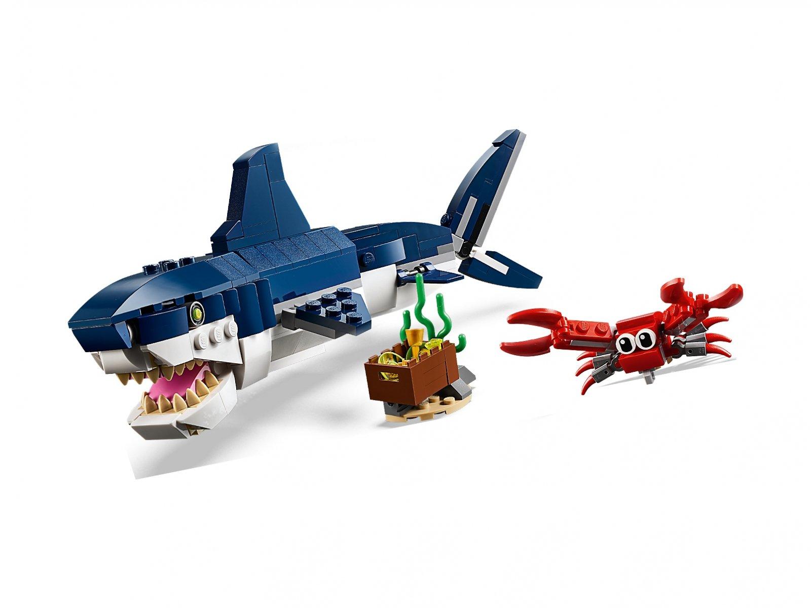 LEGO 31088 Creator 3 w 1 Morskie stworzenia