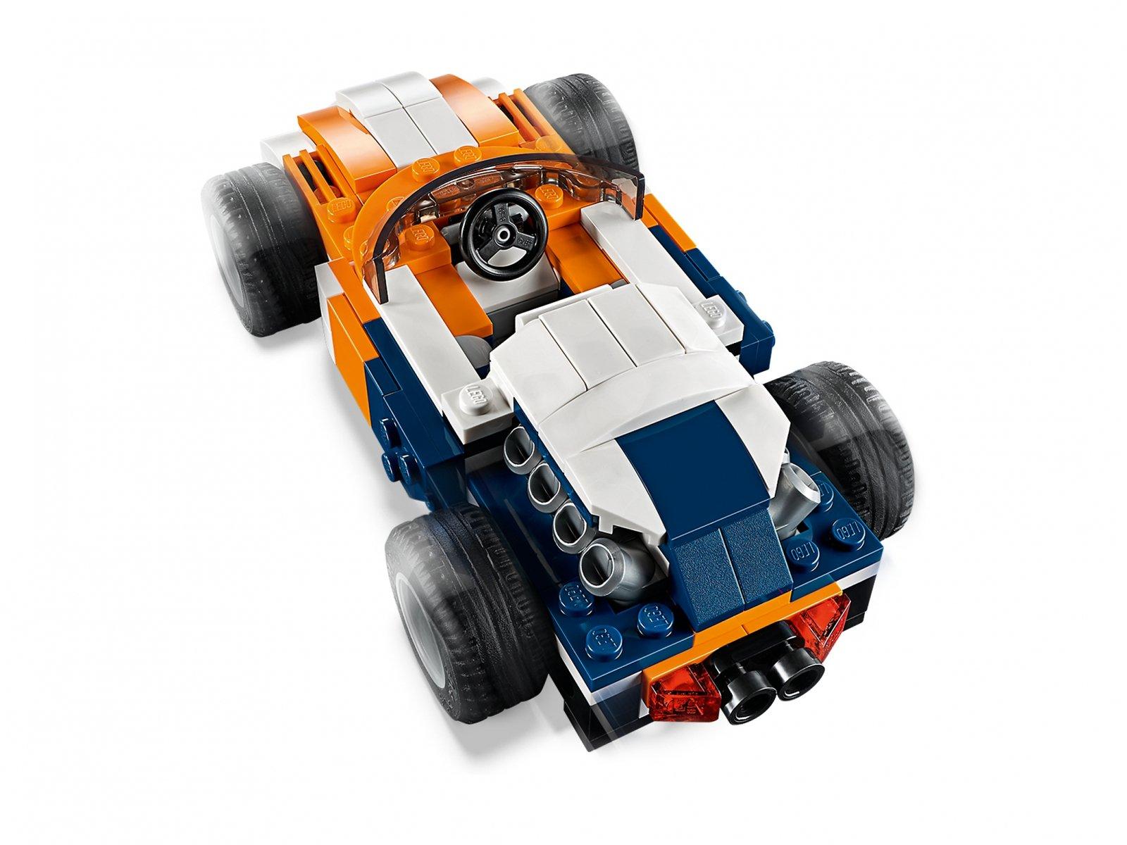 LEGO Creator 3 w 1 31089 Słoneczna wyścigówka