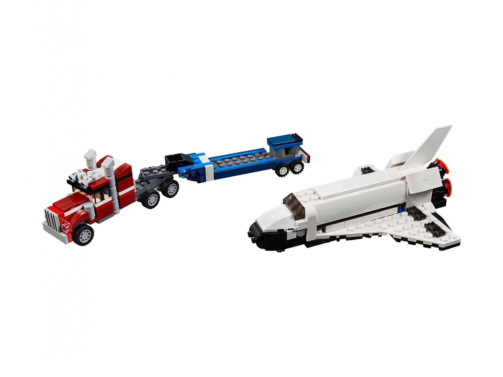 LEGO 31091 Creator 3 w 1 Transporter promu