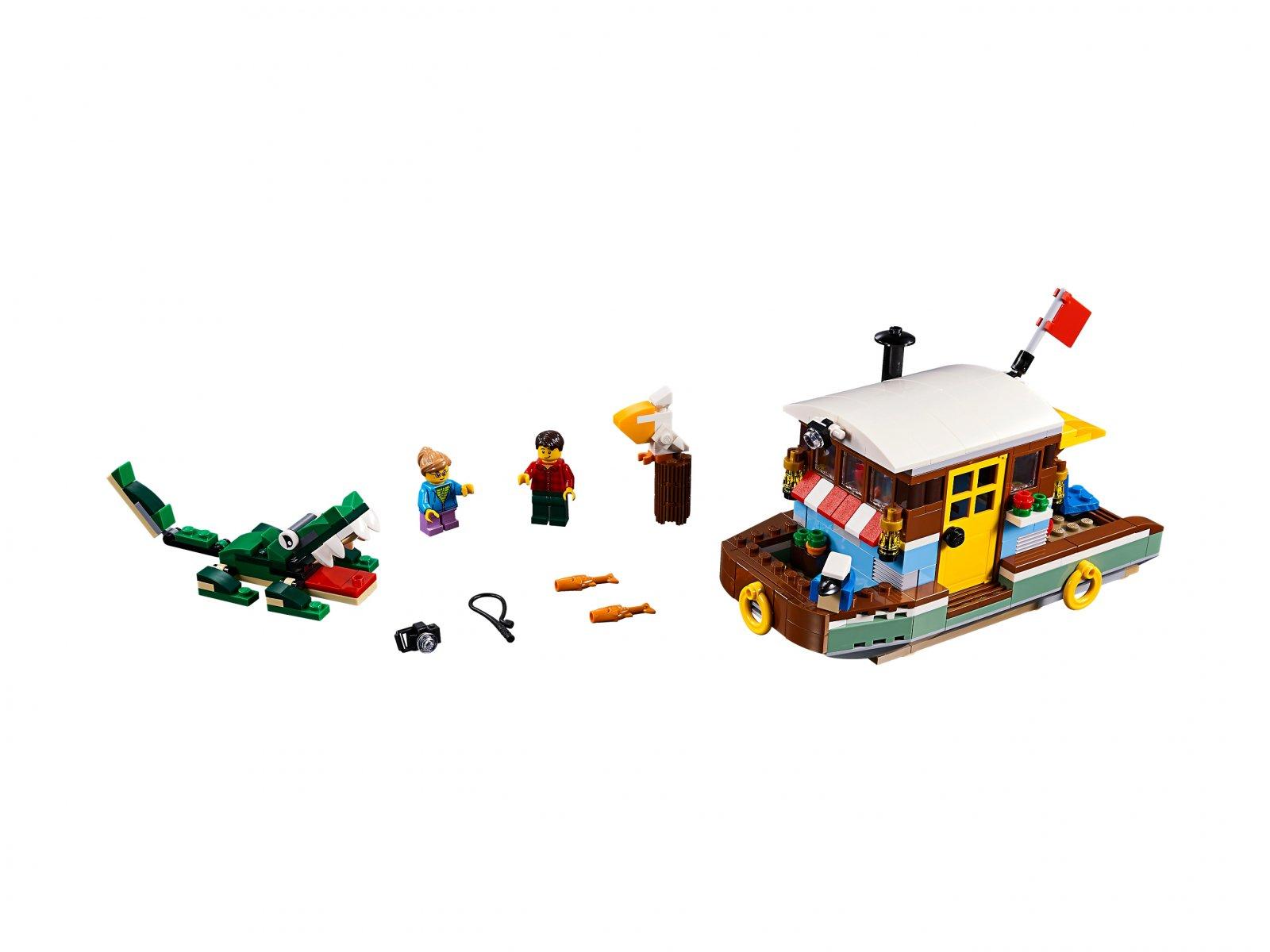 LEGO 31093 Łódź mieszkalna