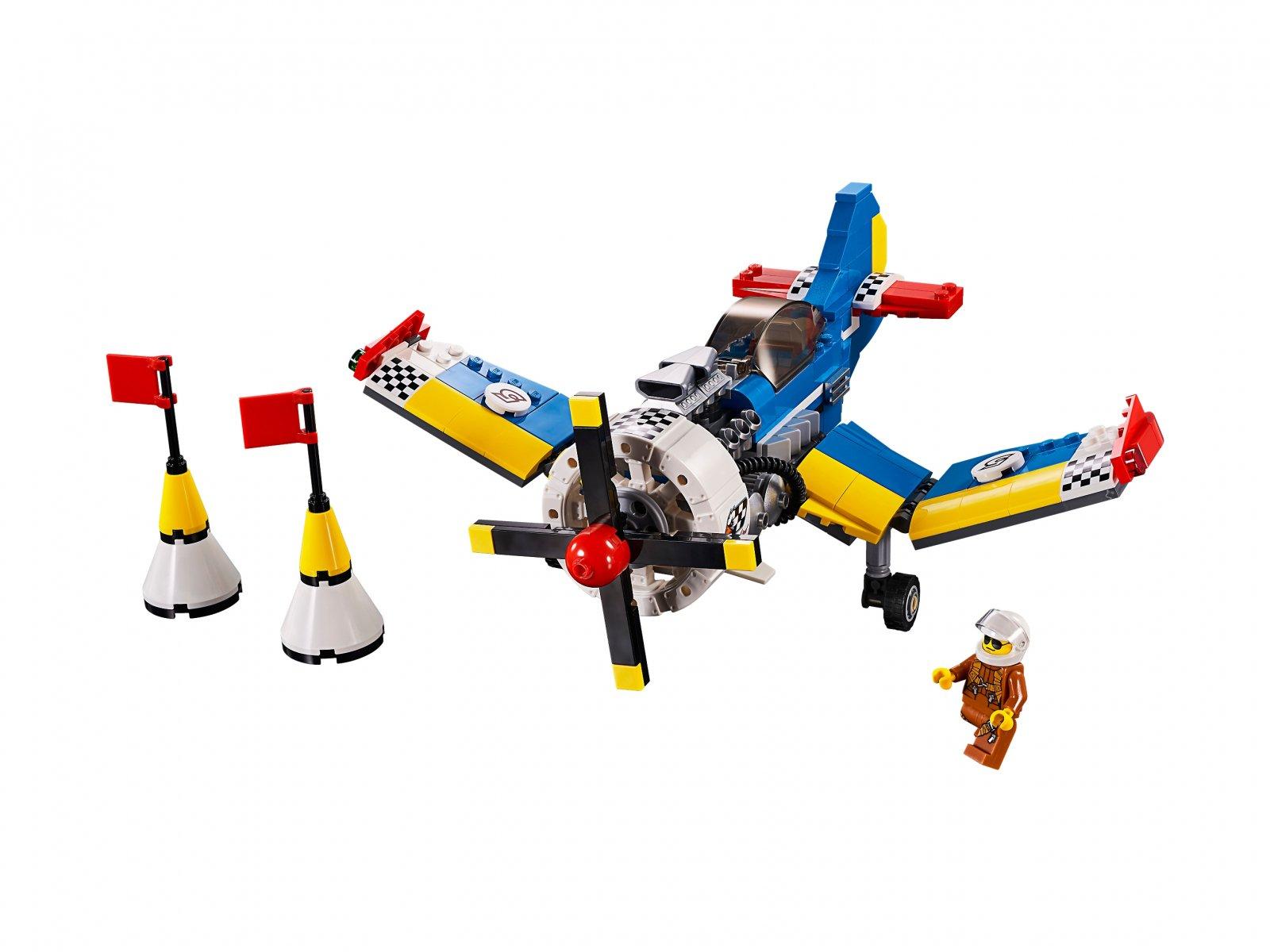 LEGO Creator 3 w 1 31094 Samolot wyścigowy
