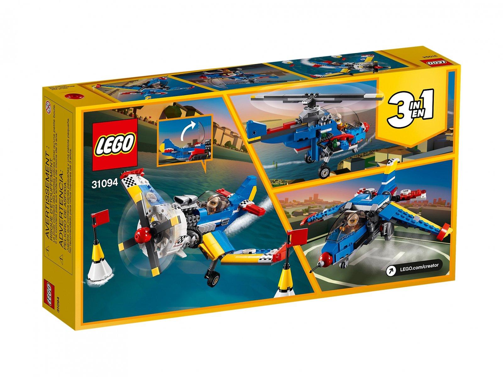 LEGO 31094 Samolot wyścigowy