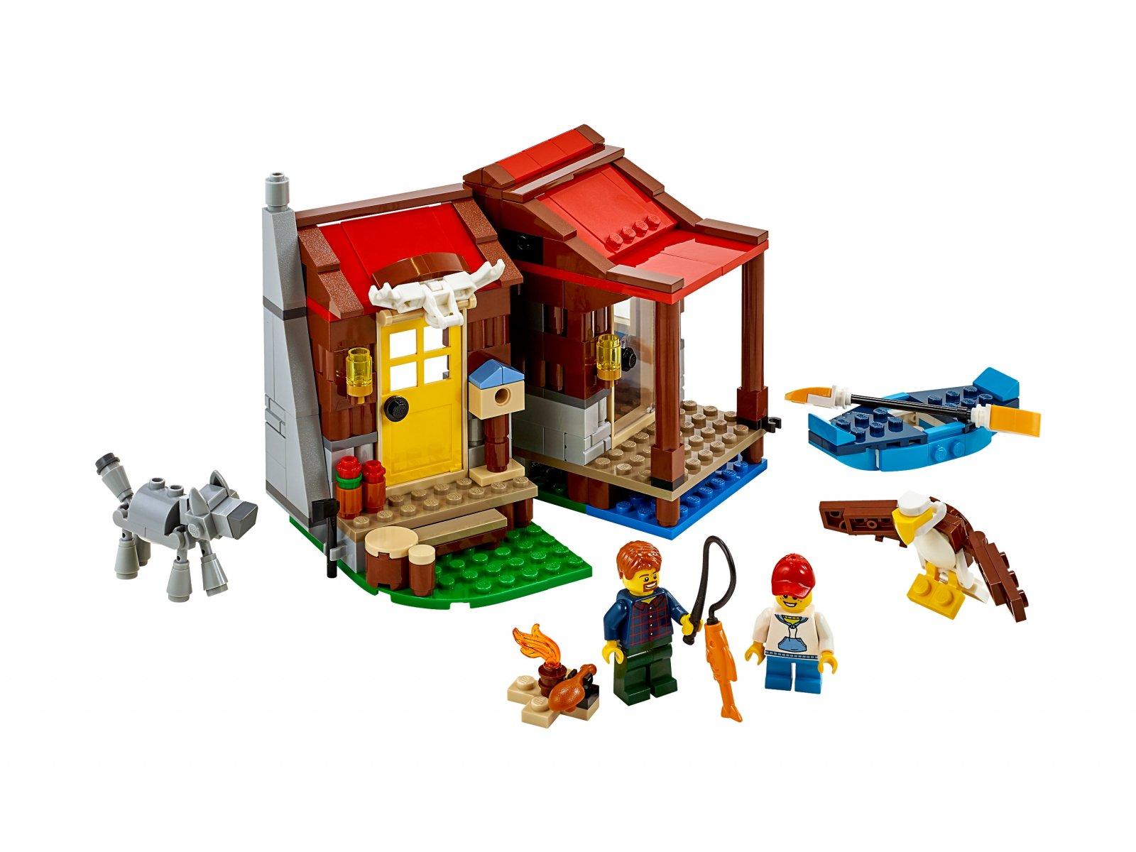 LEGO Creator 3 w 1 31098 Domek na wsi