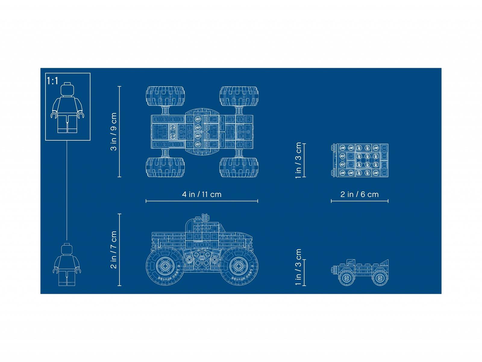 LEGO 31101 Creator 3 w 1 Monster truck