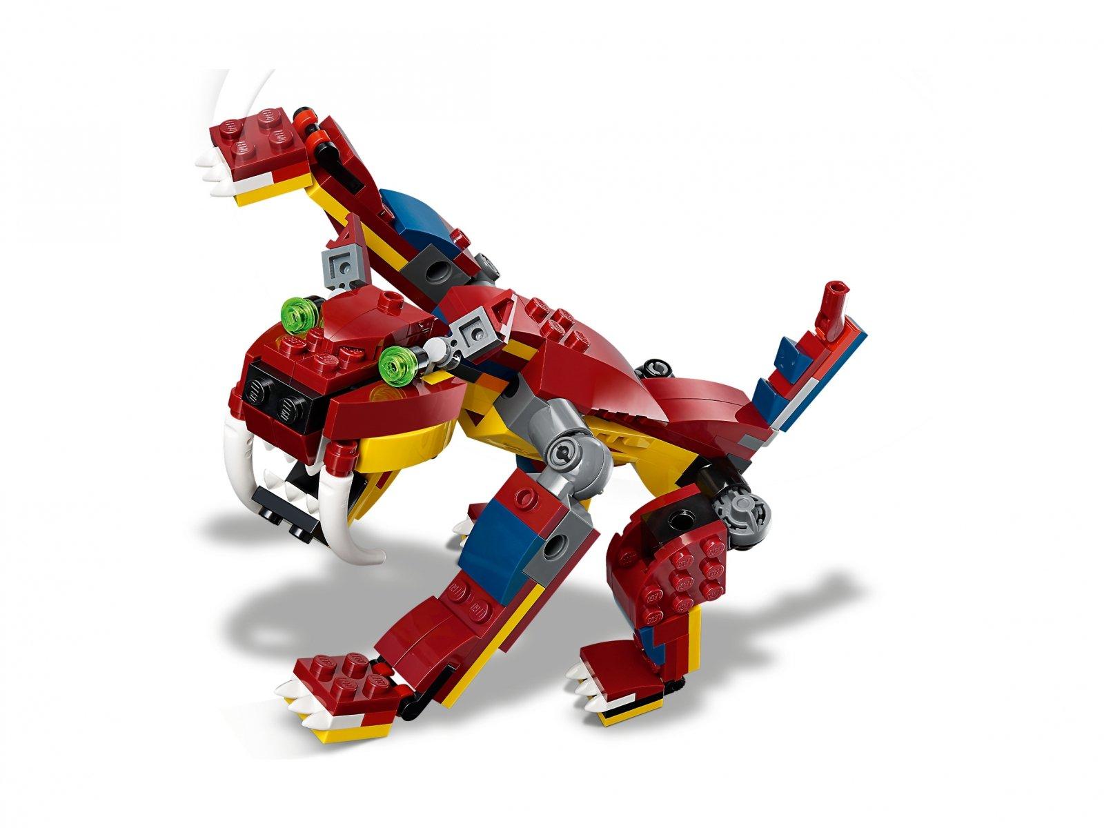 LEGO Creator 3 w 1 Smok ognia 31102