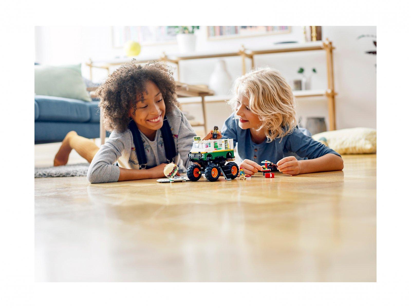 LEGO Creator 3 w 1 Monster truck z burgerami 31104