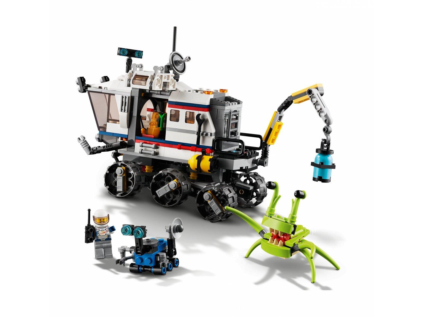 LEGO Creator 3 w 1 Łazik kosmiczny 31107