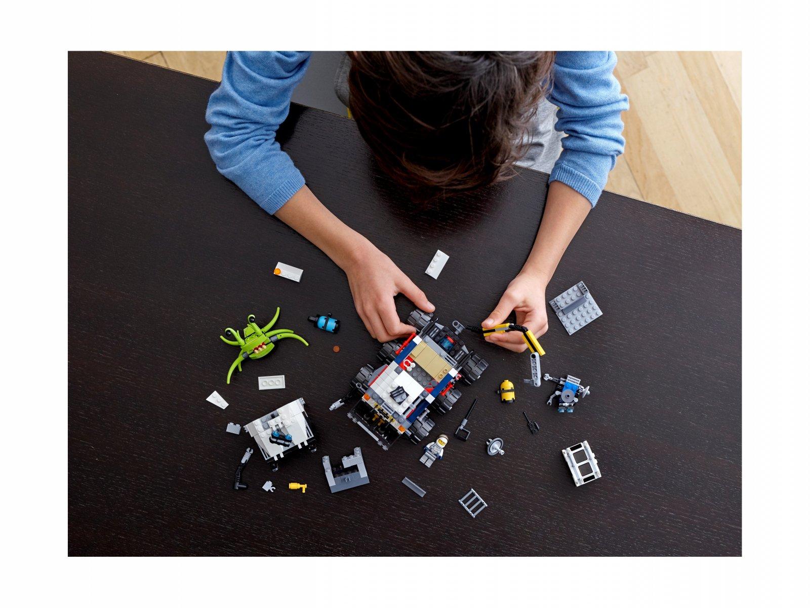 LEGO 31107 Creator 3 w 1 Łazik kosmiczny