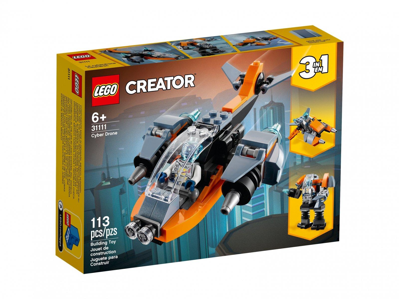 LEGO Creator 3 w 1 Cyberdron 31111