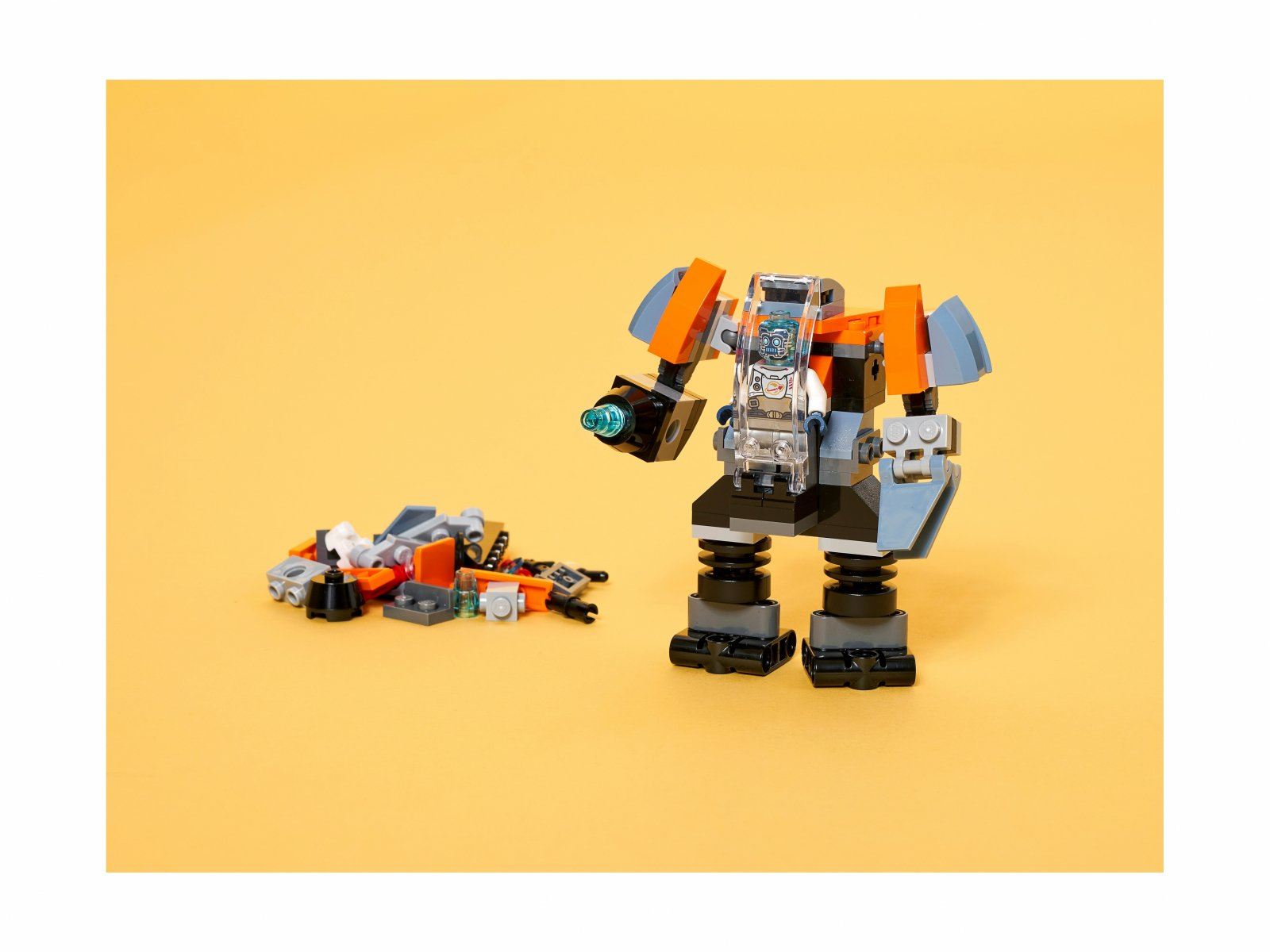 LEGO Creator 3 w 1 31111 Cyberdron