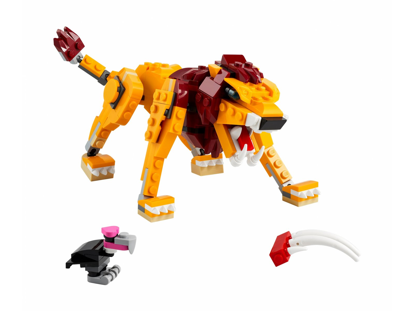 LEGO 31112 Dziki lew