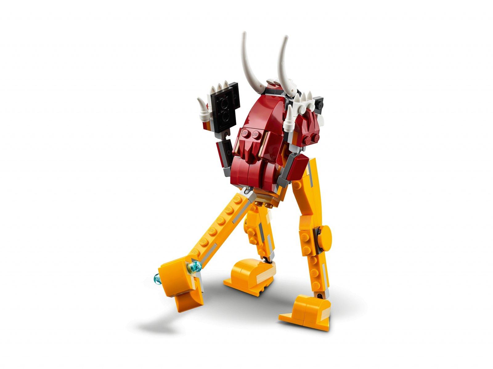 LEGO 31112 Creator 3 w 1 Dziki lew