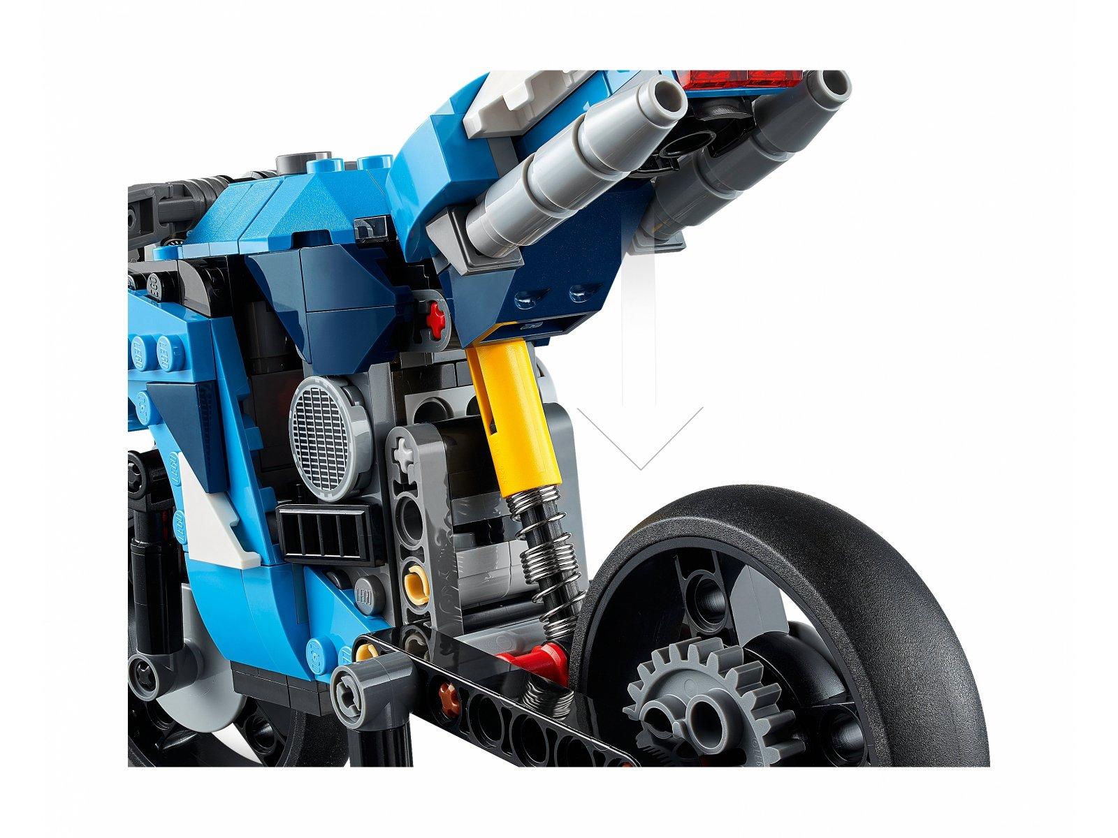 LEGO Creator 3 w 1 31114 Supermotocykl