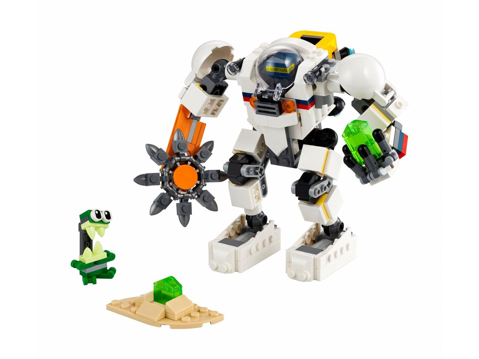 LEGO 31115 Kosmiczny robot górniczy