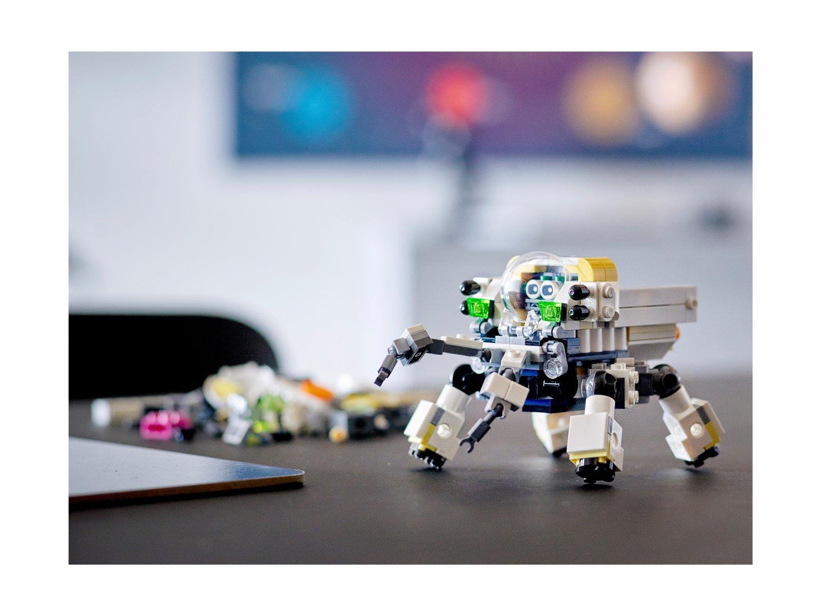 LEGO Creator 3 w 1 31115 Kosmiczny robot górniczy