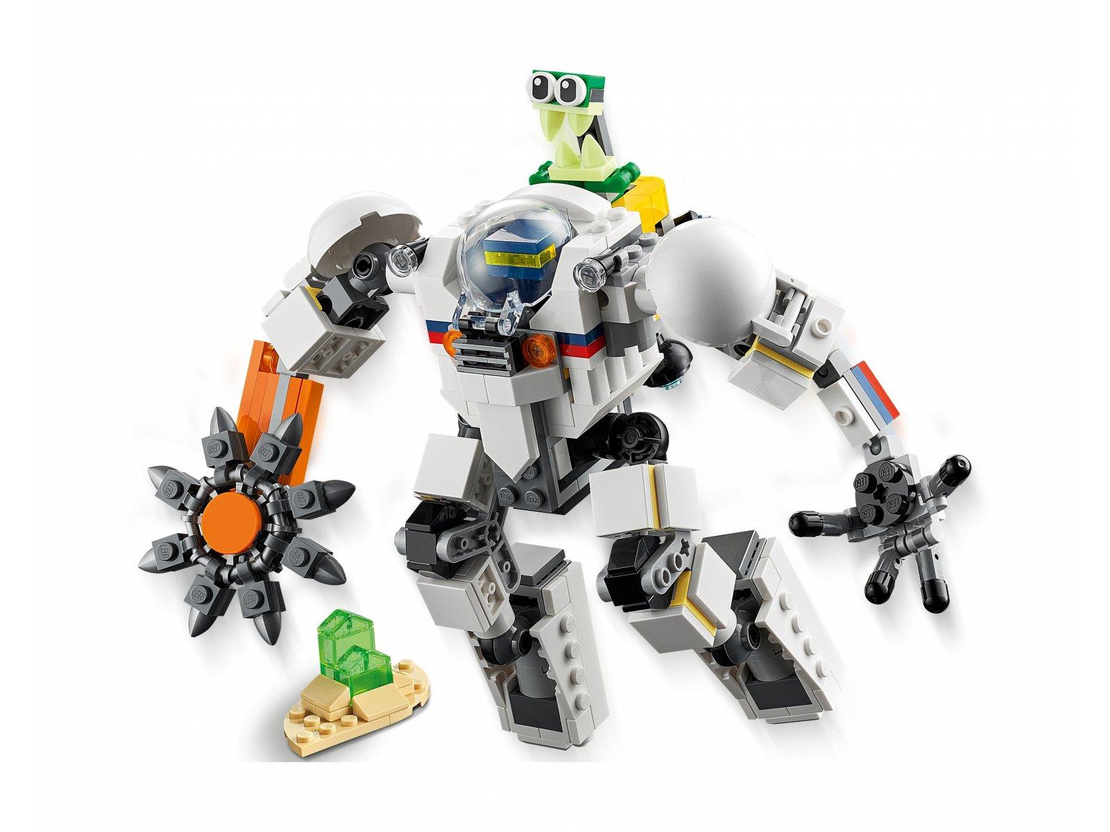 LEGO 31115 Creator 3 w 1 Kosmiczny robot górniczy