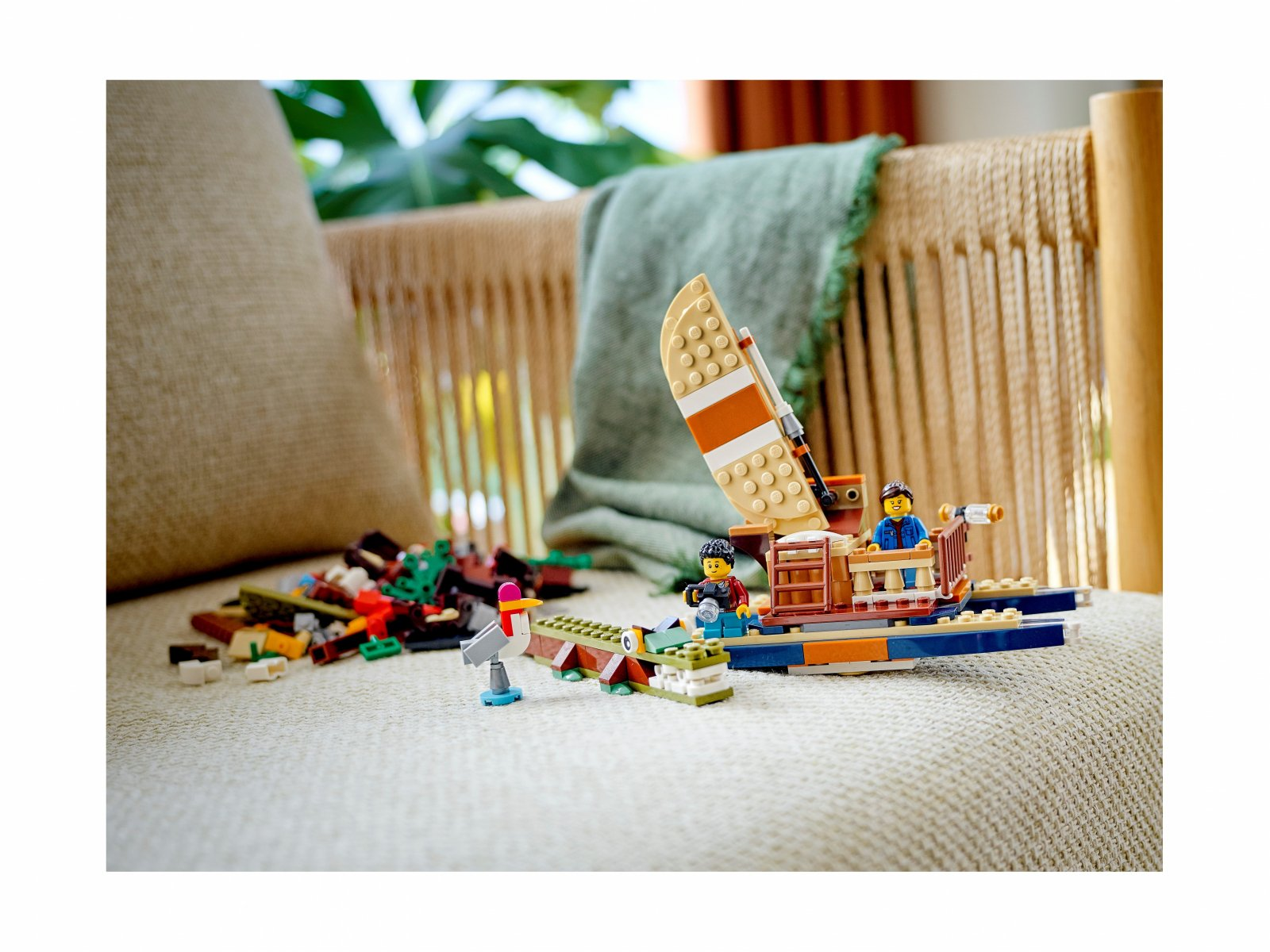 LEGO Creator 3 w 1 Domek na drzewie na safari 31116