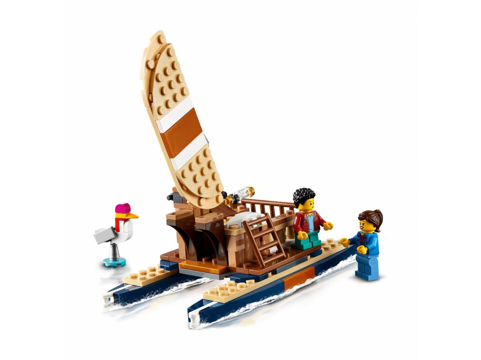 LEGO 31116 Creator 3 w 1 Domek na drzewie na safari