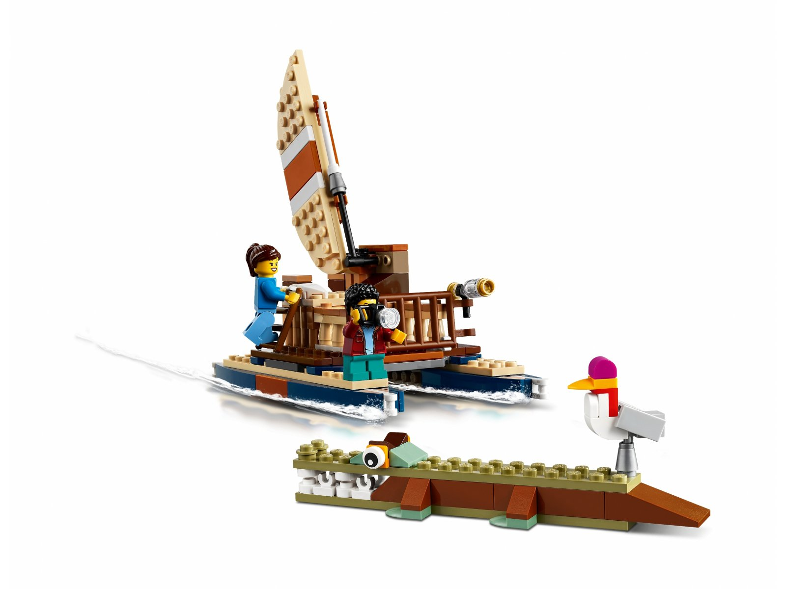 LEGO 31116 Domek na drzewie na safari